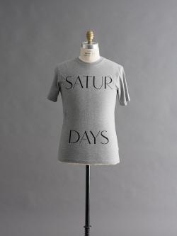 Saturdays NYC | SPACED PRINTED T-SHIRTS Grey 半袖プリントTシャツの商品画像