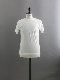 SUNSPEL | LONG-STAPLE COTTON CLASSIC T-SHIRT White 半袖クルーネックTシャツの商品画像