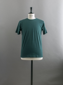 SUNSPEL | LONG-STAPLE COTTON CLASSIC T-SHIRT Dark Green 半袖クルーネックTシャツの商品画像