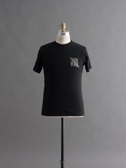 Saturdays NYC | NY SLASH T-SHIRTS Black 半袖プリントTシャツの商品画像