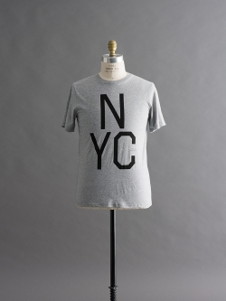Saturdays NYC | SLAB NYC T-SHIRTS Ash Heather 半袖プリントTシャツの商品画像