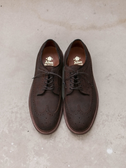 Alden | TOBACCO CHAMOIS LONG WING BLUCHER 【97861】 ロングウィングダービーシューズ