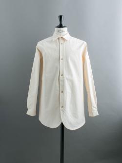 FRANK LEDER | VINTAGE BEDSHEET OLD STYLE SHIRT Natural ベッドリネンオールドスタイルシャツの商品画像