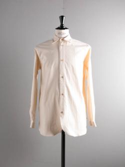 FRANK LEDER | VINTAGE BEDSHEET OLD STYLE SHIRT 80:Natural ベッドリネンオールドスタイルシャツの商品画像