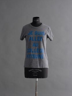MAISON KITSUNE | TEE SHIRT JE SUIS ALLE Black Marl 半袖プリントTシャツの商品画像