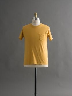 FilMelange | SUNNY Mustard 半袖クルーネックTシャツの商品画像