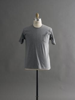 GICIPI | 1704P Grigio Melange マーセライズコットンクルーネックTシャツの商品画像