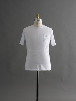 GICIPI | 1704P Blanco マーセライズコットンクルーネックTシャツの商品画像