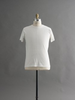 FilMelange | DIZZ White 半袖クルーネックTシャツの商品画像