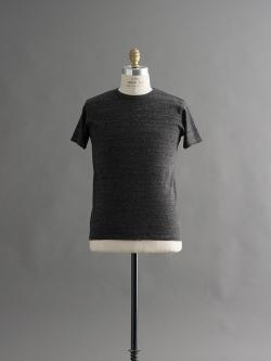 FilMelange | DIZZ Black Melange 半袖クルーネックTシャツの商品画像