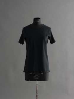 SUNSPEL | LONG-STAPLE COTTON CLASSIC T-SHIRT Black Q82クルーネックTシャツの商品画像