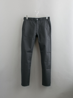 MAISON KITSUNE | COTTON JAY CHINO PANT Black コットンテーパードチノパンツ