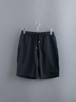 SUNSPEL | LOOPBACK SHORTS Black 裏毛スウェットショーツの商品画像