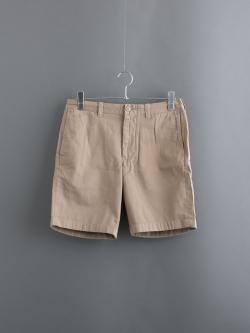 その他のBRAND | 9″ STANTON SHORT British Khaki 9インチコットンショートパンツの商品画像