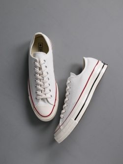 CONVERSE | CHUCK TAYLOR ALL STAR '70 LOW TOP White CTAS 70 OX チャックテーラー ローカットの商品画像
