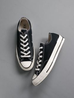 CONVERSE | CHUCK TAYLOR ALL STAR '70 LOW TOP Black CTAS 70 OX チャックテーラー ローカット