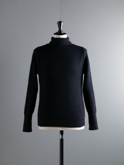 THE NAVY-TURTLENECK Blue