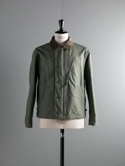 ENGINEERED GARMENTS | NA2 JACKET – COTTON DOUBLE CLOTH Olive コットンダブルクロスNA2ジャケットの商品画像