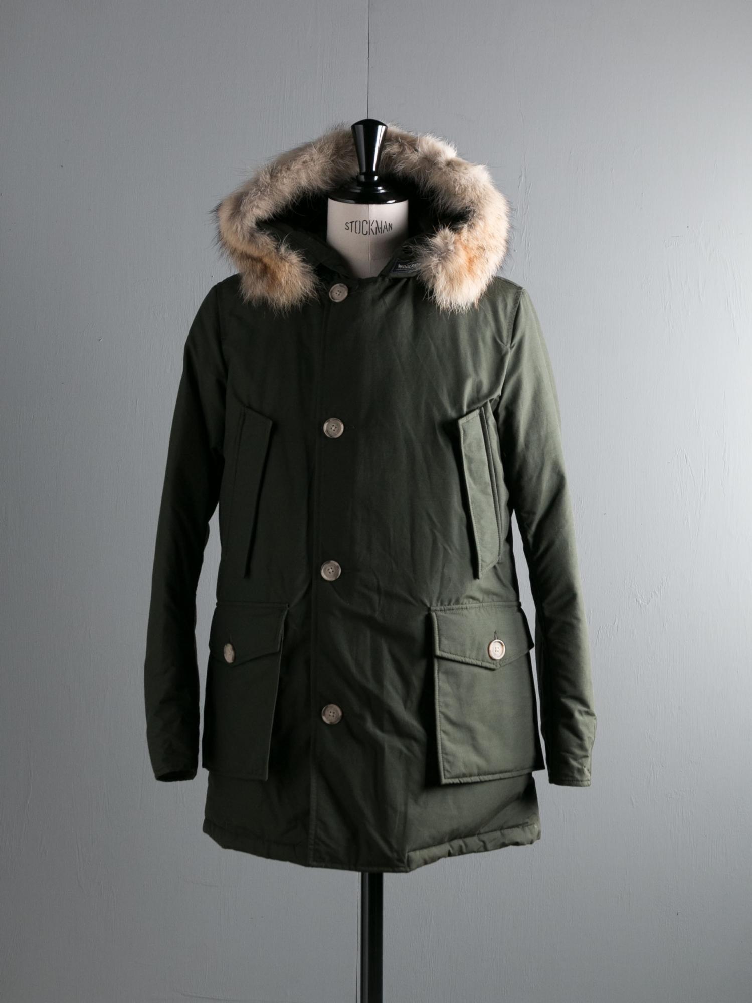 Woolrich ウールリッチ Arctic Parka Df Dark Green 通販