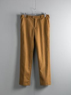 FRANK LEDER | CAMEL WOOL PANT 85 キャメルウールスラックスの商品画像