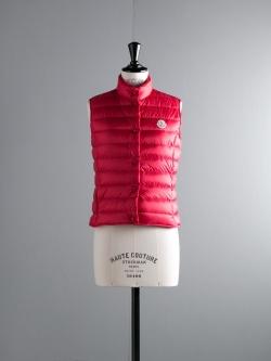 MONCLER | LIANE Red(450) ライトダウンベスト の商品画像
