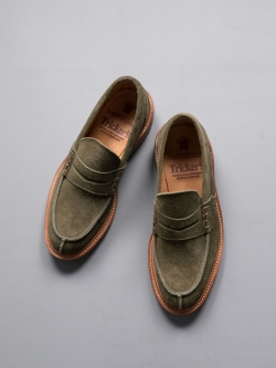 EVA SUEDE LOAFER Turf Green
