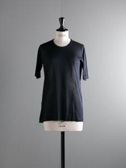 JOHN SMEDLEY | KERSTIN Midnight シルク半袖クルーネックニットの商品画像