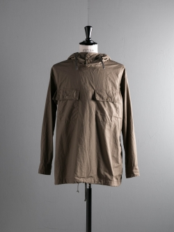 ENGINEERED GARMENTS | CAGOULE SHIRT – SUPERFINE POPLIN Olive カグールアノラックシャツの商品画像