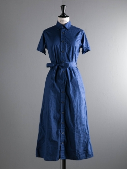 FWK by ENGINEERED GARMENTS | BD SHIRT DRESS – SUPERFINE POPLIN Dk. Blue ボタンダウンシャツドレスの商品画像