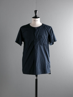 ENGINEERED GARMENTS | MED SHIRT – HIGH COUNT COTTON LAWN Dk. Navy medシャツ