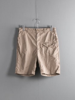 ENGINEERED GARMENTS | GHURKA SHORT – HIGH COUNT TWILL Khaki グルカショーツの商品画像