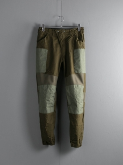 ENGINEERED GARMENTS | MOTO PANT – MALIBU POPLIN Dk. Olive モトパンツの商品画像