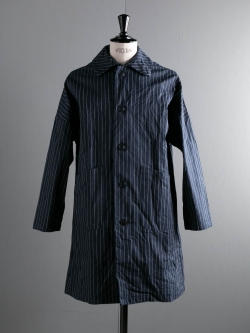 YARMO | DUSTER COAT German Stripe Cotton コットンダスターコート