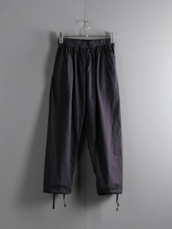 FWK by ENGINEERED GARMENTS | BALLOON PANT – HIGH COUNT TWILL Dk. Navy バルーンパンツの商品画像