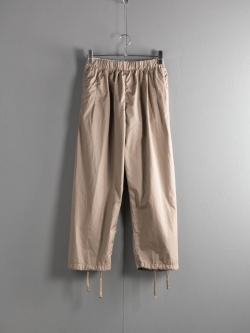 FWK by ENGINEERED GARMENTS | BALLOON PANT – HIGH COUNT TWILL Khaki バルーンパンツ