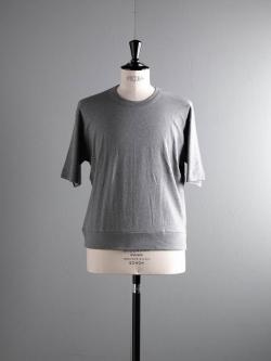 GICIPI | 1802P Gri. Mela. リブ編みビッグシルエット半袖Tシャツの商品画像