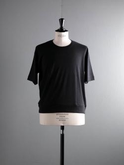 GICIPI | 1802P Nero リブ編みリラックスフィットTシャツの商品画像