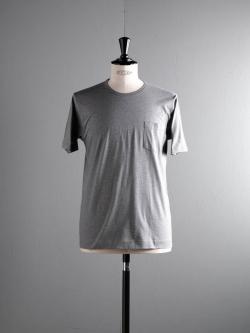 GICIPI | 1804P gri. Mela. マーセライズコットンクルーネックTシャツの商品画像