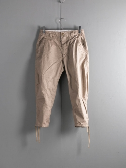 ENGINEERED GARMENTS | RIDING PANT – HIGH COUNT TWILL Khaki ライディングパンツの商品画像