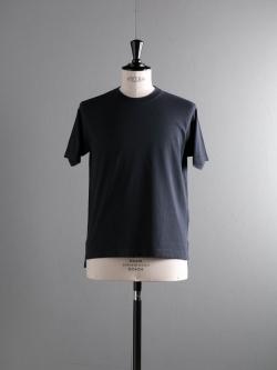 BATONER | BN-18SM-037 Navy 32G強撚ニットTシャツの商品画像