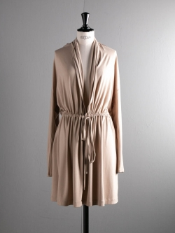 FINE1 CARDIGAN / DRESS Sand Beige
