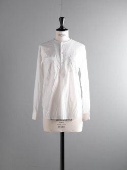 FWK by ENGINEERED GARMENTS | IRVING SHIRT – HIGH COUNT COTTON LAWN White アービングシャツの商品画像