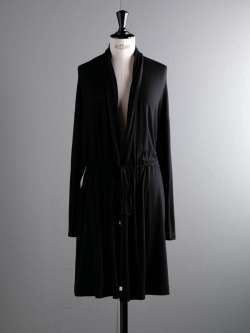 FINE1 CARDIGAN / DRESS Solid Black