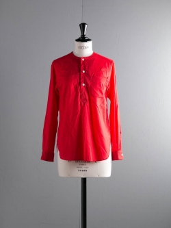 FWK by ENGINEERED GARMENTS | IRVING SHIRT – HIGH COUNT COTTON LAWN Red アービングシャツの商品画像