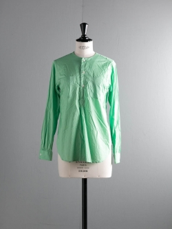 FWK by ENGINEERED GARMENTS | IRVING SHIRT – HIGH COUNT COTTON LAWN Lime Green アービングシャツの商品画像