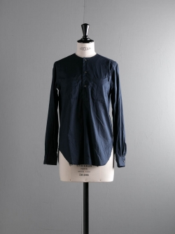 FWK by ENGINEERED GARMENTS | IRVING SHIRT – HIGH COUNT COTTON LAWN Dk. Navy アービングシャツ