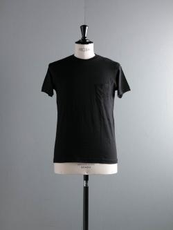 FilMelange | SUNNY Black 半袖クルーネックTシャツの商品画像