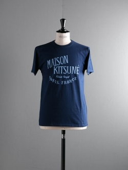 MAISON KITSUNE | TEE SHIRT PALAIS ROYAL Dark Blue 半袖プリントTシャツの商品画像