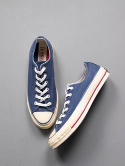 CONVERSE | CHUCK TAYLOR '70 VINTAGE CANVAS LOW TOP '36 Navy CTAS 70 OX チャックテーラー ローカットの商品画像