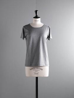 GICIPI | 1813P Gri. Mela. マーセライズクルーネックTシャツの商品画像